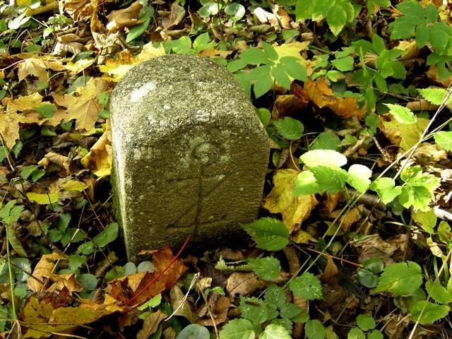 Ein Stifts-Grenzstein