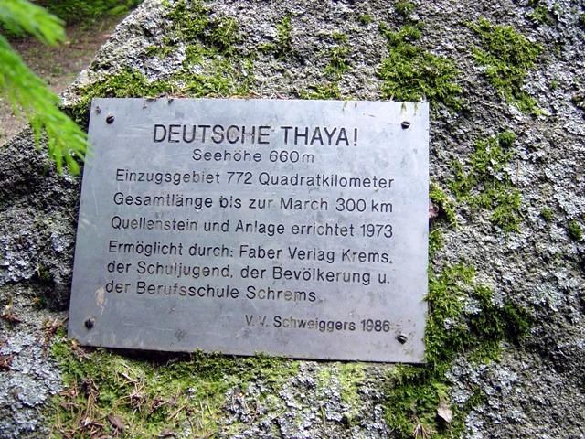 Die Deutsche Thaya