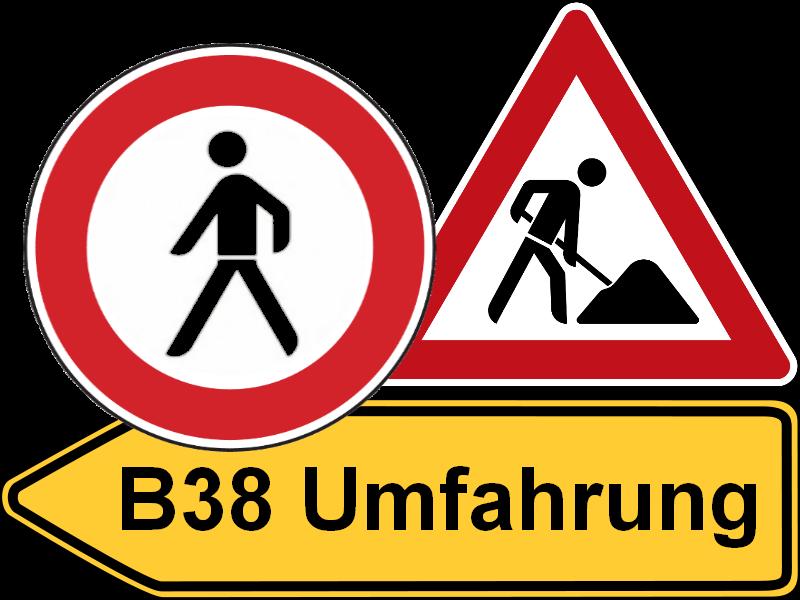 B38 Umfahrung Zwettl - Sperren und Umleitungen