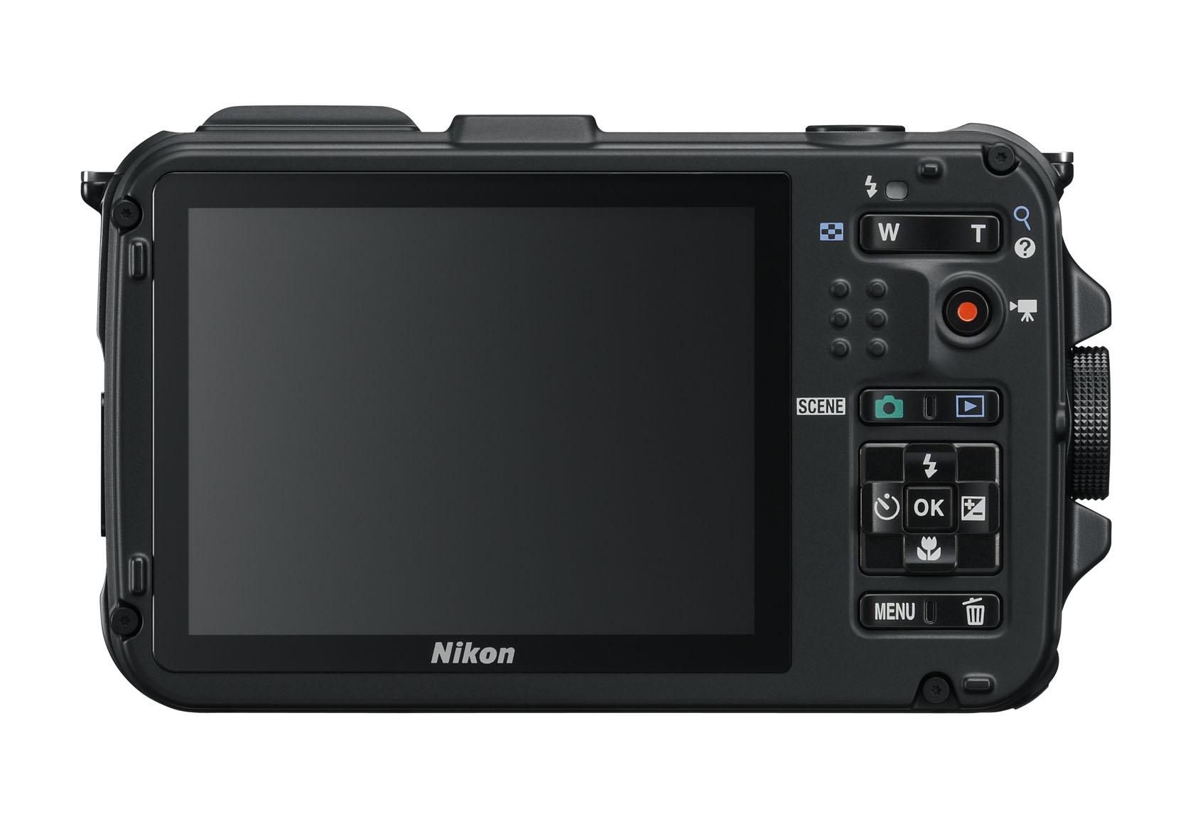 Nikon COOLPIX AW100 Rückseite