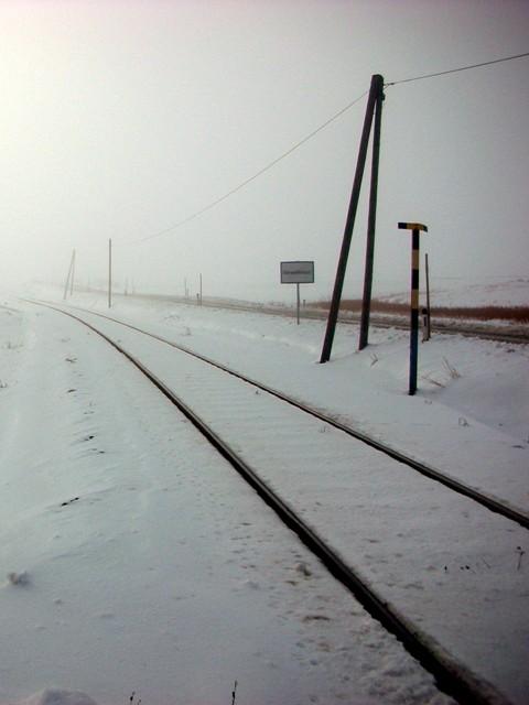 beim Bahnübergang