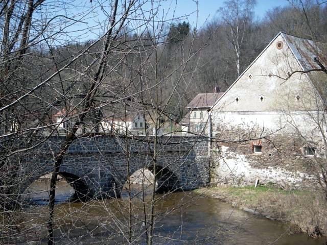 romanischen Brücke