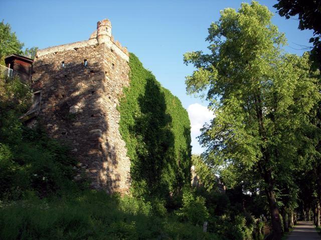 Stadtmauervorsprung