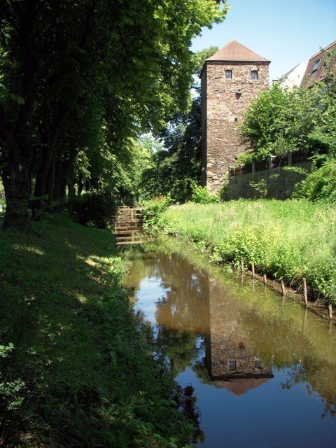Hofbauerturm und Mühlbach
