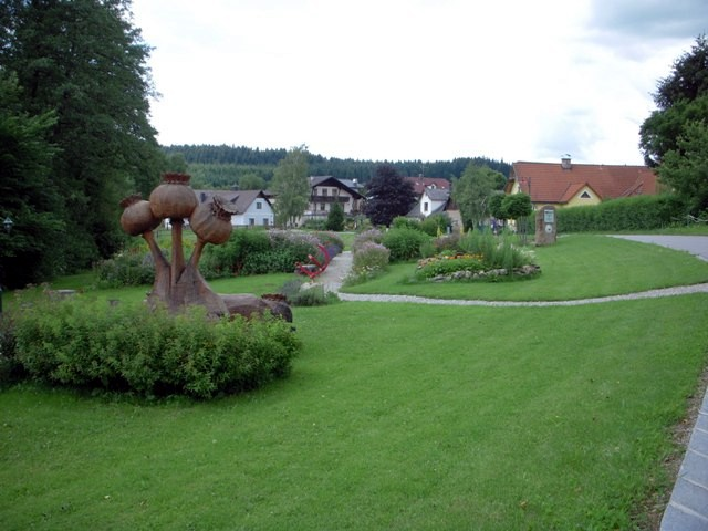 Mohn-Schaugarten