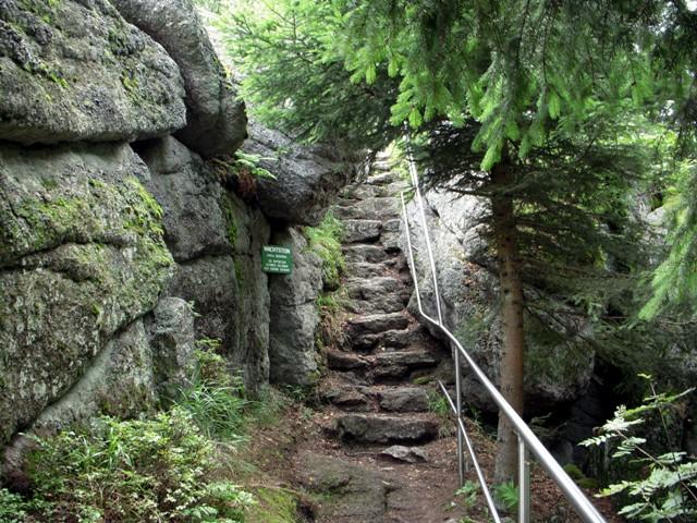 Aufstieg Wachtstein