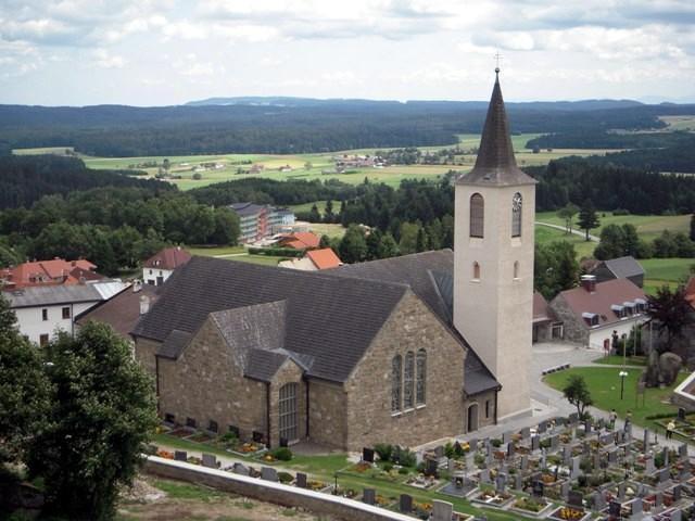 Kirche - Blick vom Wachtstein
