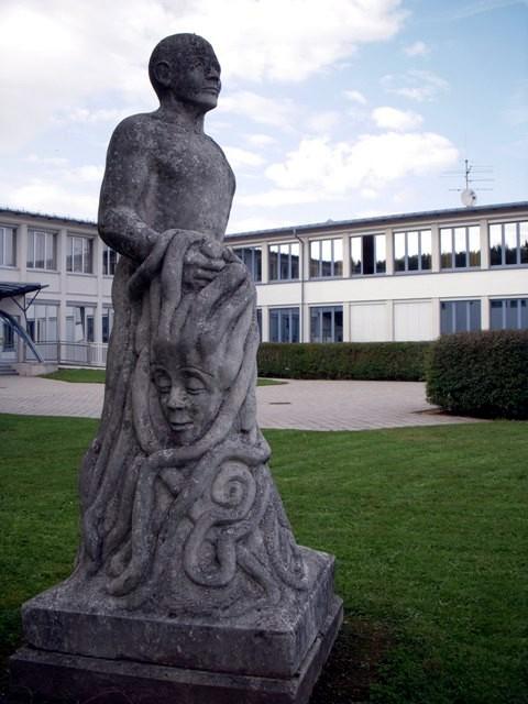 """""""Perseus mit dem Haupt der Medusa"""" von Gerhard Lechner"""