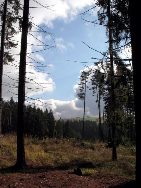 Blick zum Moidramsberg