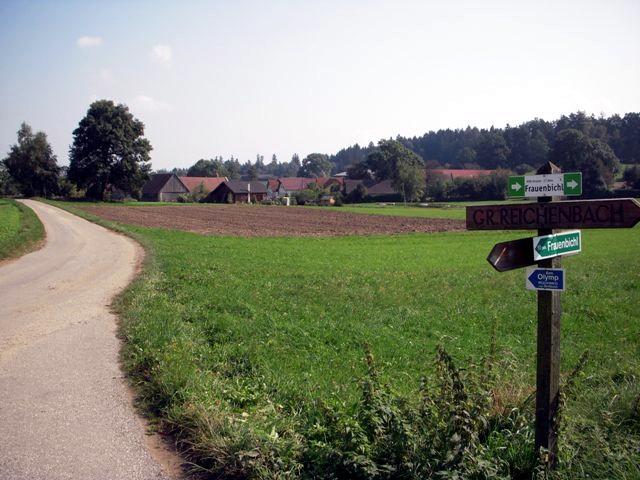 Kurz vor Streitbach