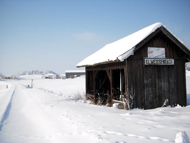 Eisenbahnhaltestelle