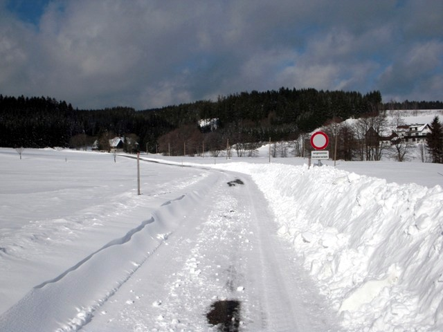 Richtung Roßmühle