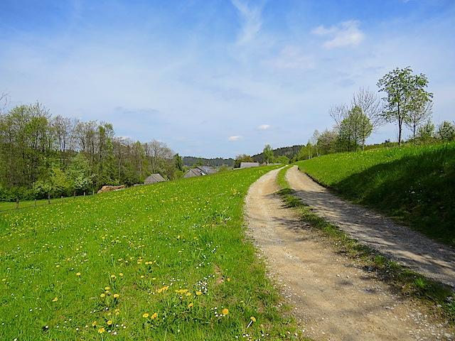 Richtung Niedernondorf