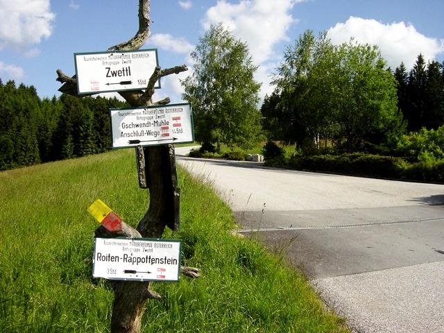 Wegenetz der Naturfreunde Zwettl