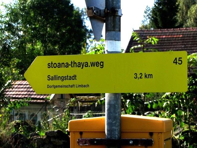 Richtung Sallingstadt