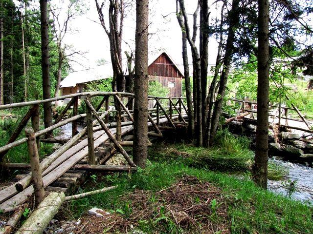 Die Knüppelbrücke