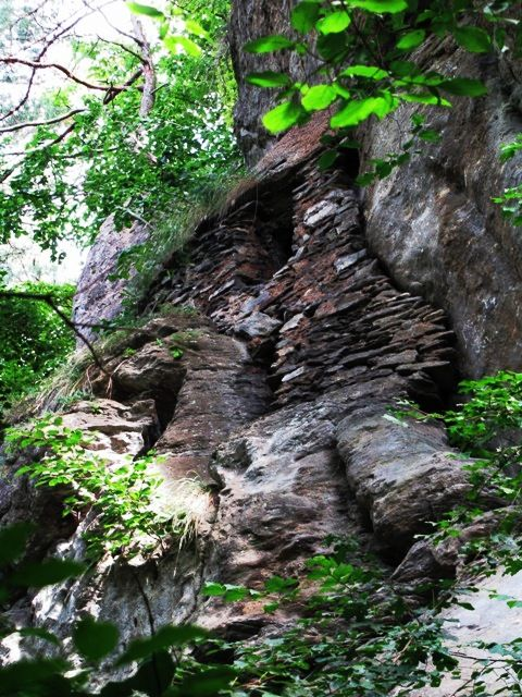 Felsbehausung des Einsiedlers