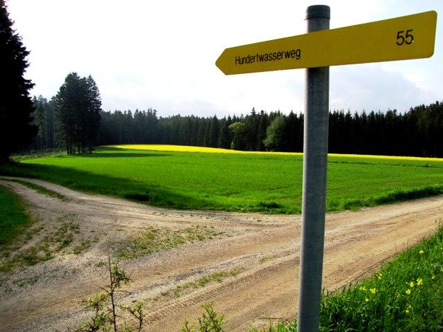 Richtung Schwarzalm