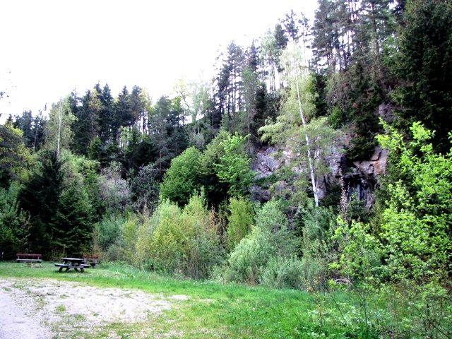 Richtung Steinbruch