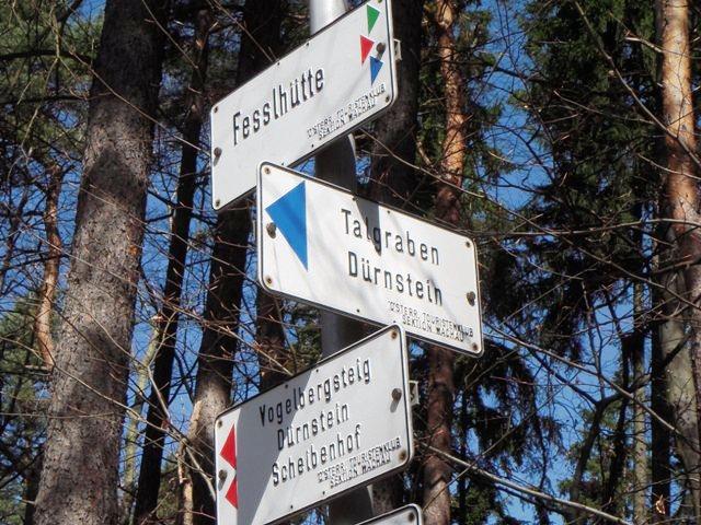 Richtung Fesslhütte