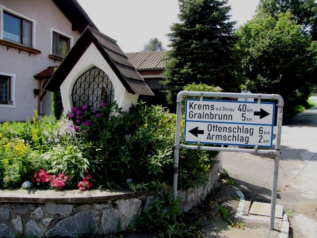 Abzweigung Sallingberg