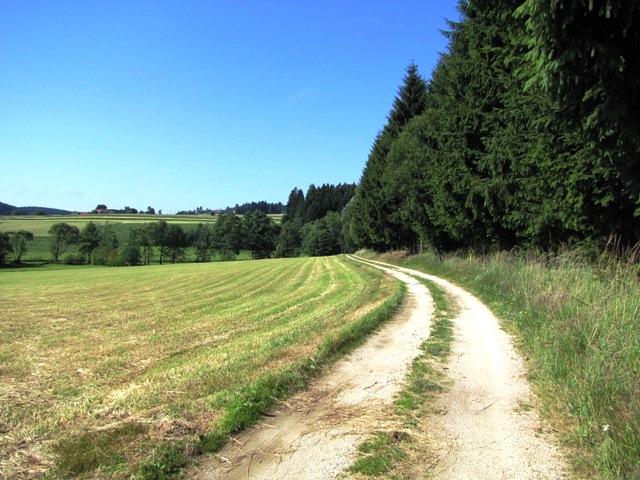 Richtung Bernreith