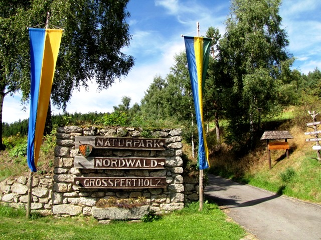 Naturpark Eingang