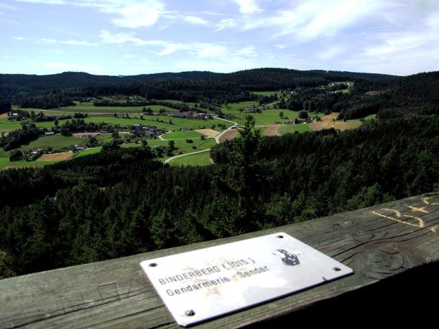 Blick zum Binderberg