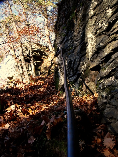 Höhlenzugang