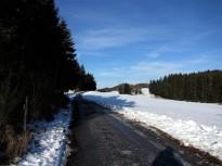 Zufahrtsstraße Richtung Dachlhof
