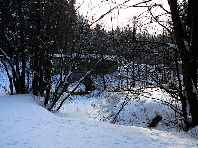 Brücke bei der Hintermühle