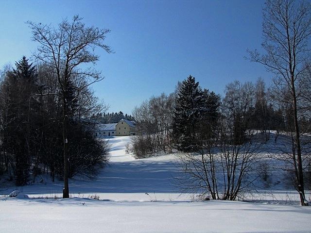 Blick Richtung Teichhof
