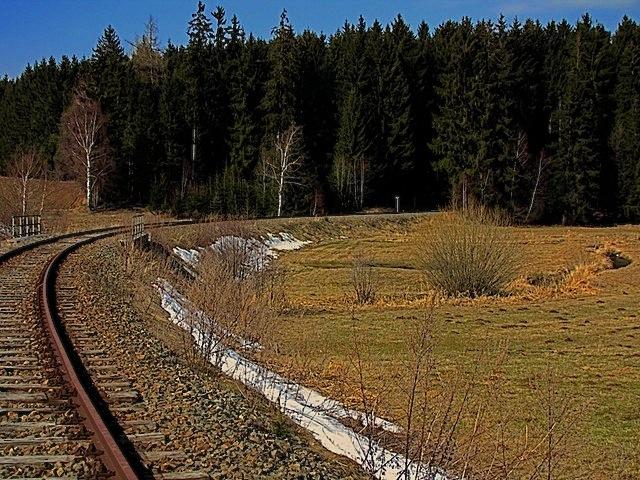 Eingestellte Bahnstrecke