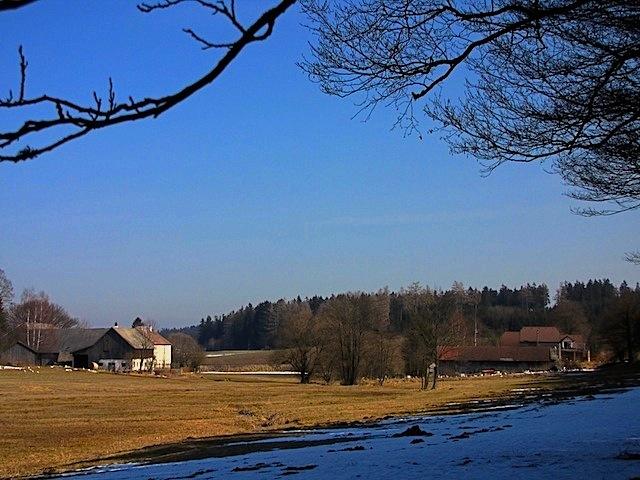 Haushof und Hausmühle