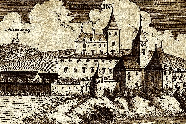 Georg Matthäus Vischer Burg ENGELSTAIN