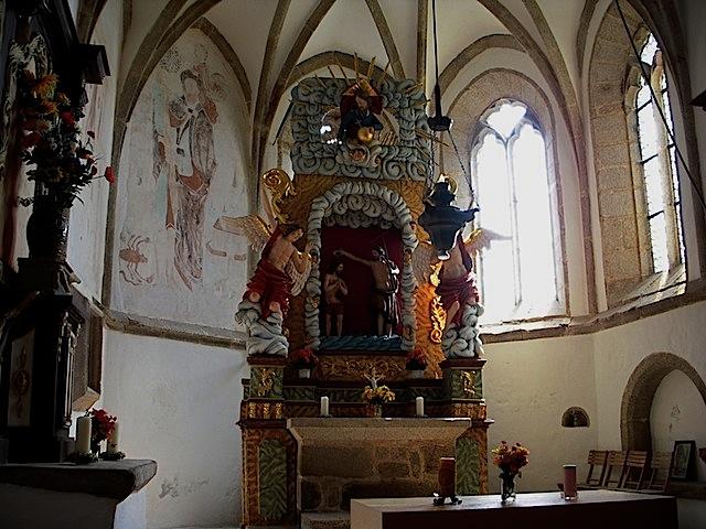 Johannesbergkirche bei Harmannstein