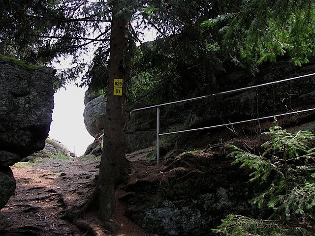 Aufstieg zum Wachtstein