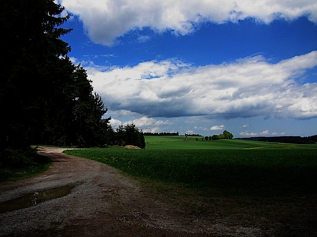 Richtung Vordere Waldhäuser