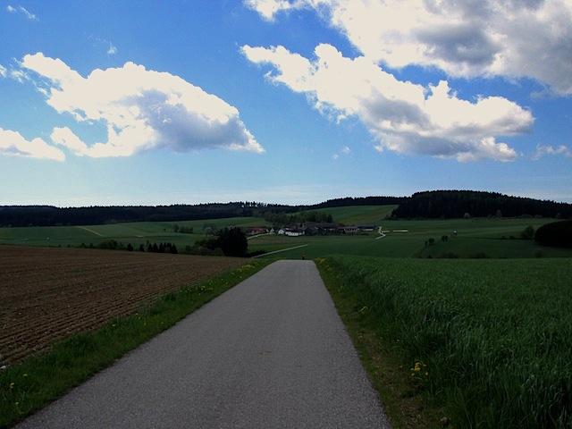 Richtung Edlesberg