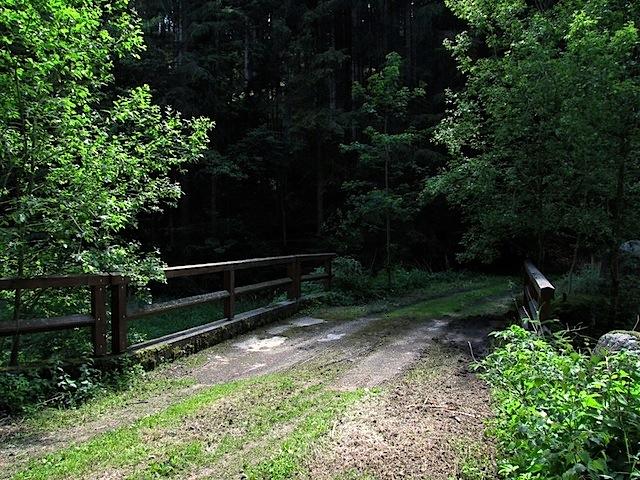 Brücke über den Friedersbach