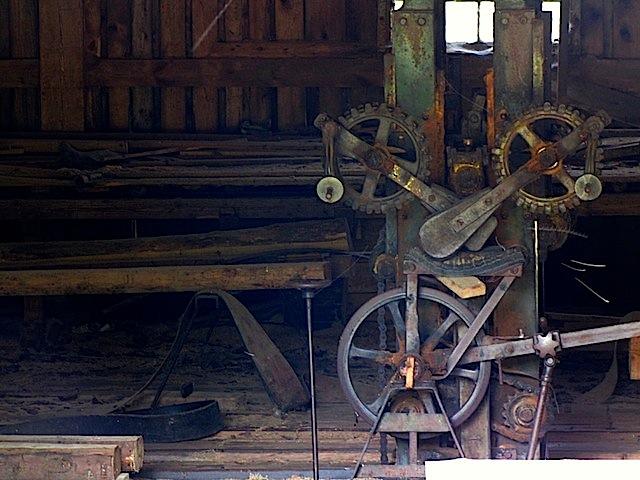 Die Säge der Ringmühle