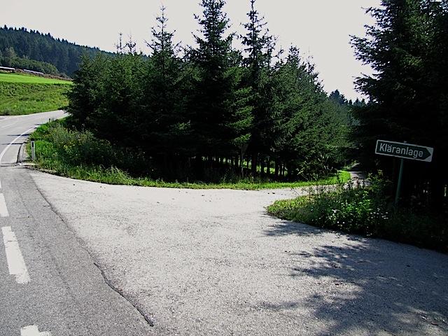Abzweigung Loschmühle