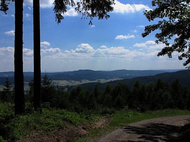 Erster Blick ins Tal