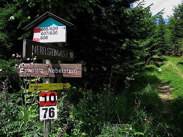 Zur Nebelsteinhütte