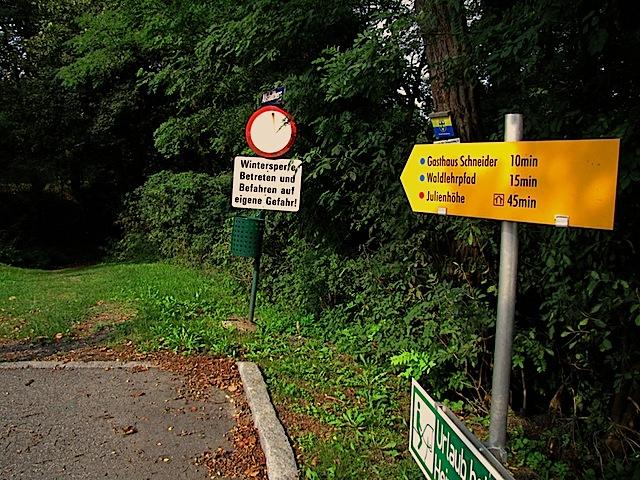 Abstieg Drosendorf-Altstadt