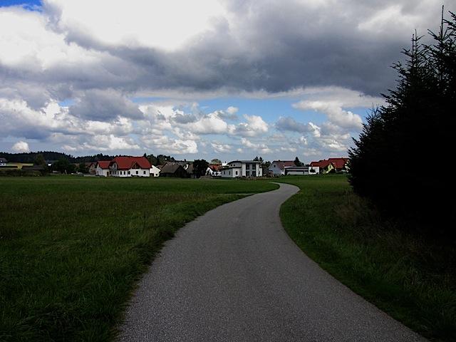 Blick Richtung Sprögnitz