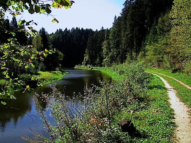 Erste Fjordbildung