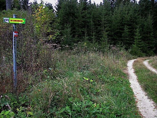 Richtung Hammermühle