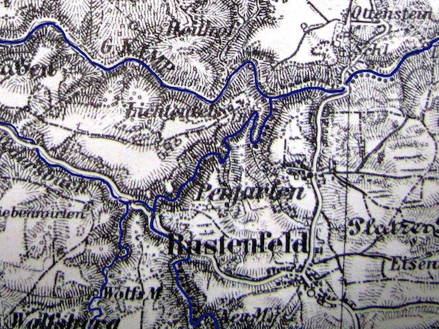 Der alte Flussverlauf