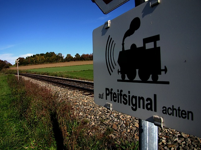 Eisenbahnübergang